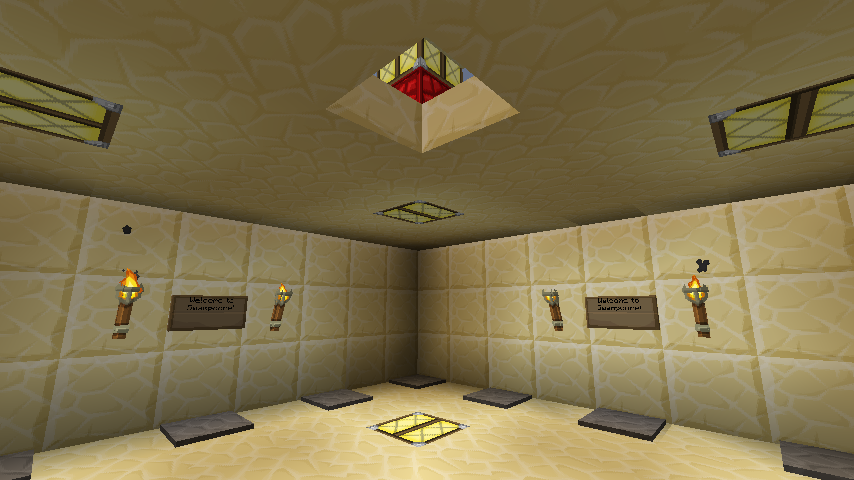 How To Make A Spawn Room In Minecraft