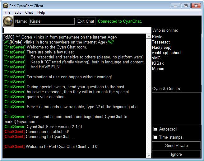 PCCC 30 Running On Windows 7 Beta